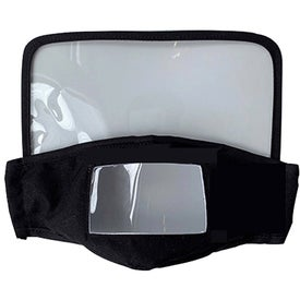Face Cover with Clear Window and Eye Shields