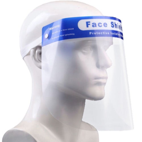 Clear / Blue Face Shield