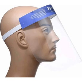 Face Shield with Forehead Loop Straps (Unisex)
