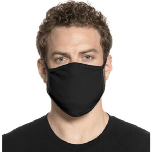 Black Fast Turn Cotton Masks