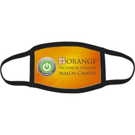 Full Color Sublimation Washable and Reusable Face Masks