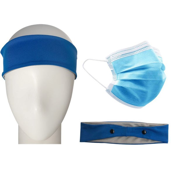 Reflex Blue Headband with Mask Kit