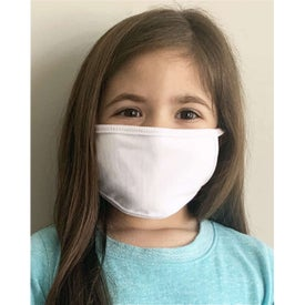 Kids 100% Cotton 2-Ply Face Masks