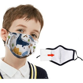 Kids Cotton Safety Face Mask