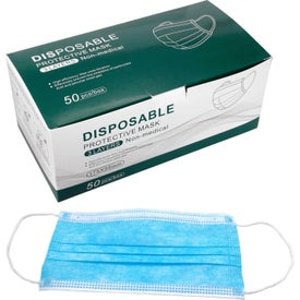 Disposable Protective Face Masks (Unisex, 8
