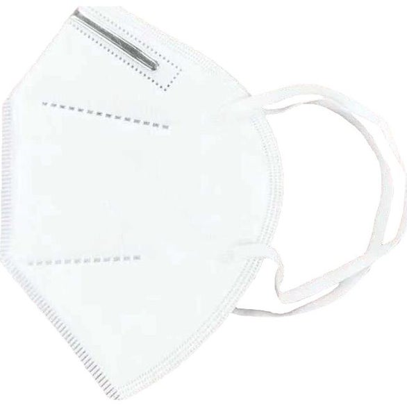 White KN95 Disposable Face Mask