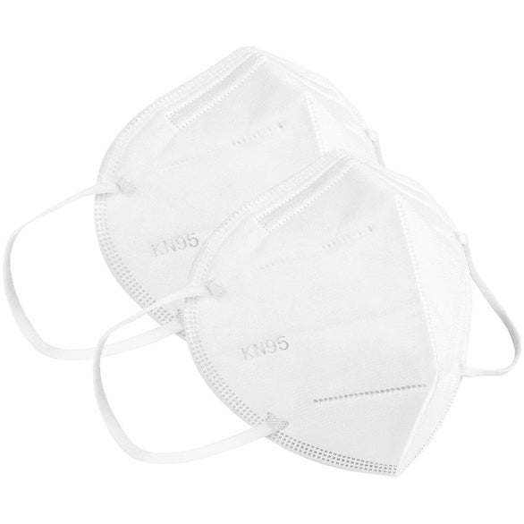 White KN95 Disposable Mask
