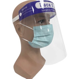 Protective Face Shields with Headband