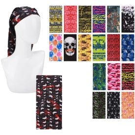 Seamless Multifunctional Headwear Bandanas
