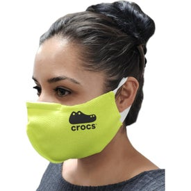 SMART Tiers Soft Ear Loop Mask with Sewn-In Nose Clip (Unisex)