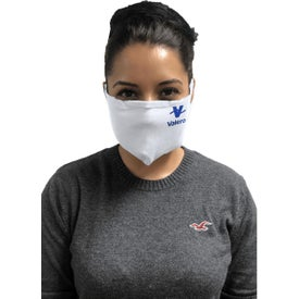 SMART Tiers Tubular Masks (Unisex, White)