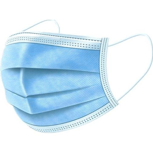 Blue Standard 3-Ply Face Mask