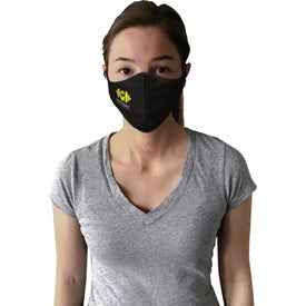Stock Triple Layer Around The Head Face Mask (Unisex)