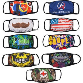 Super Soft Sublimated Face Masks