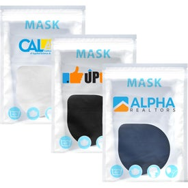 Urban 2-Layer Cotton Value Mask in Reusable Pouch