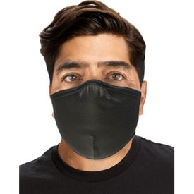 US Blanks Double Layer Cotton and Lycra Face Masks