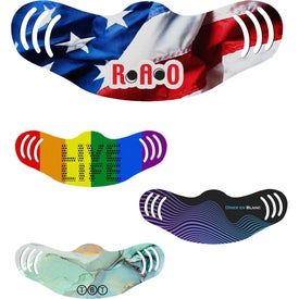 USA Made Full Color Adjustable Face Masks