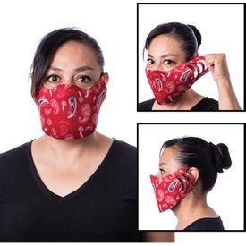 Vestic Masks (Unisex, Full Color Logo)