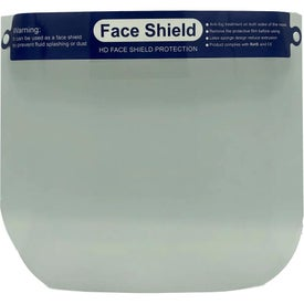 Deluxe Face Shield with Foam
