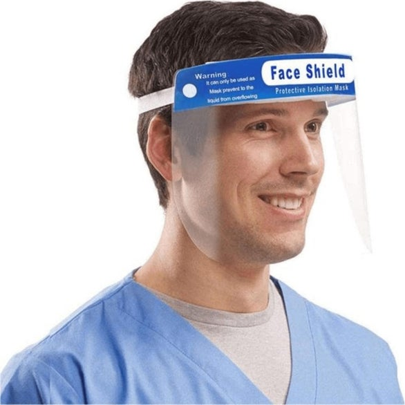 Clear Disposable Safety Full Face Shield