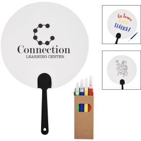 DIY Paper Fan and Marker Sets
