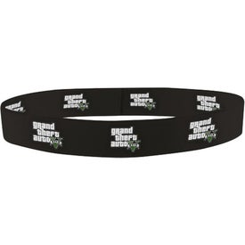 "3/4"" Dye Sublimated Stretchy Elastic Headband"