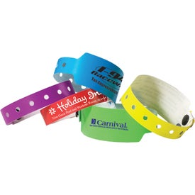 "Super Plastic Wristband (Unisex, 3"" x 0.4275"" x 0.75"")"