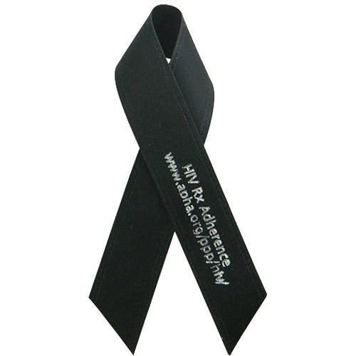 """5/8"""" x 3 1/2"""" Folded Awareness Ribbon with Tape"""