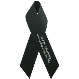 "5/8"" x 3 1/2"" Folded Awareness Ribbon with Tape"