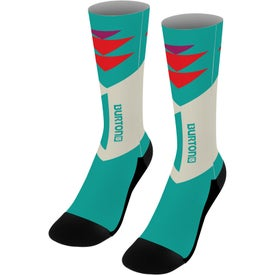 "Dye Sublimated Socks (18"")"