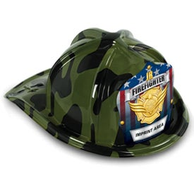 Kids' Fire Hat (Youth, Pink Camo, Dalmatian, and Green Camo)