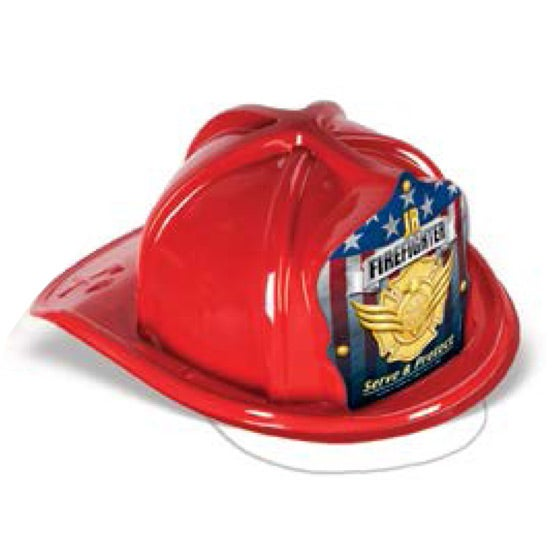 Red Kids' Fire Hat