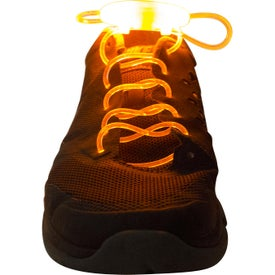 LED Optical Fiber Shoelaces