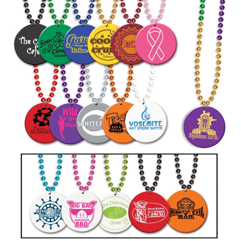 Medallion Beads (Single Color)