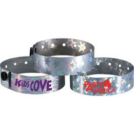 "Metallic Wristband (3/4"")"