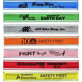 Nylon Reflective Snap Band (Unisex)