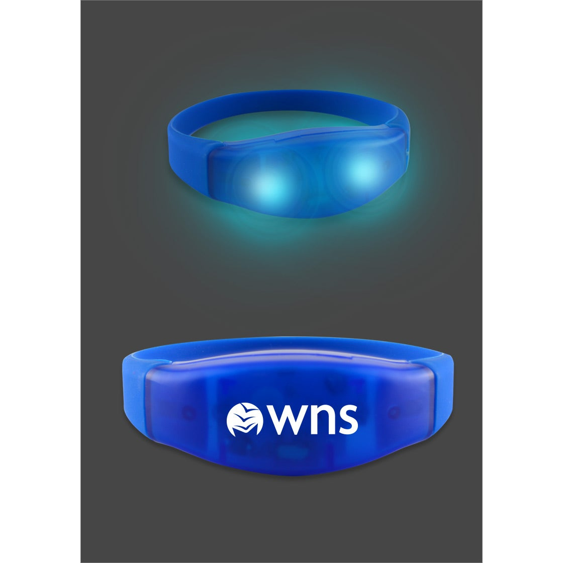 Power Up Flashing LED Bracelets