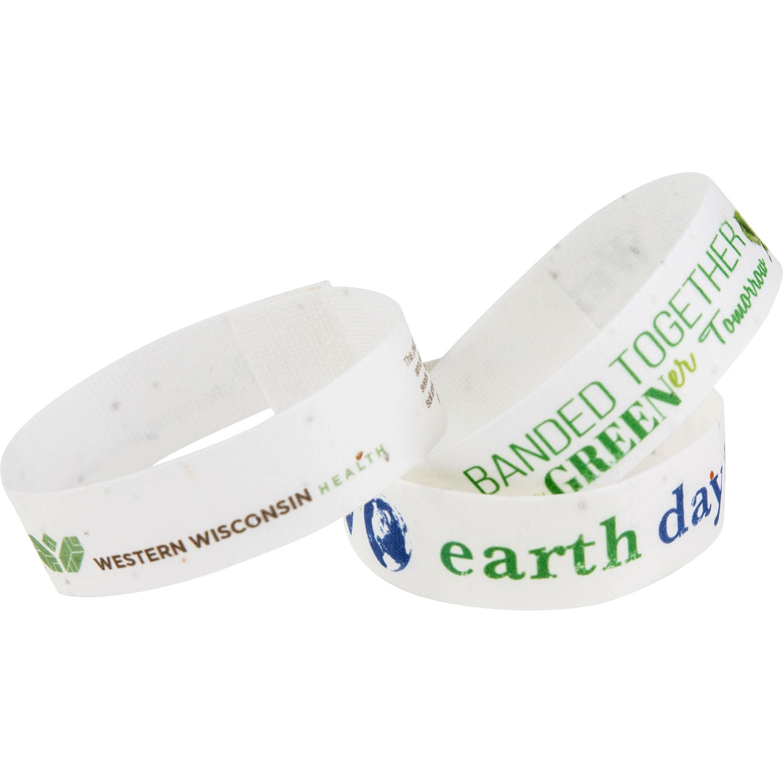 Premium Seeded Paper Wristband