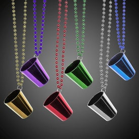 Shot Glass Beaded Necklaces