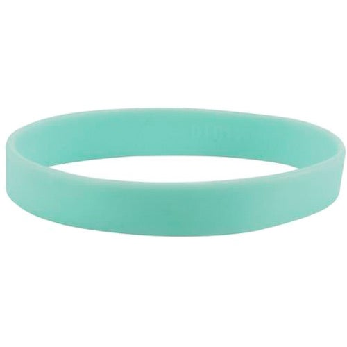 Light Blue Silicone Wristband