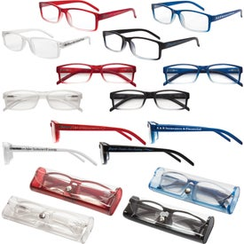 Soft Feel Reading Glasses with Matching Case (Unisex)