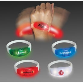 Sound and Motion Dual-Activated LED Bracelet