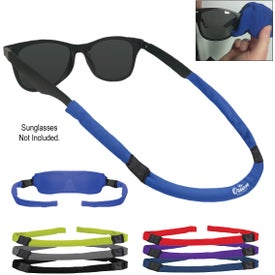 Sunglass Strap Cover And Cleaner