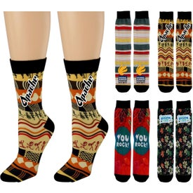 Vibrant Custom Socks