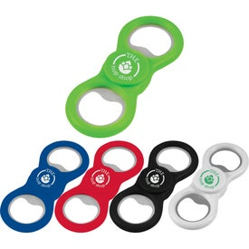 Dizzy Duo Spinner with Bottle Opener