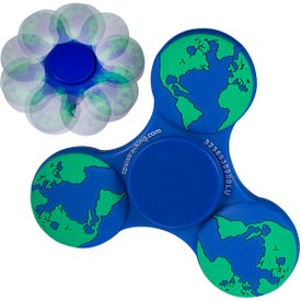 Earth PromoSpinner Fidget Spinner