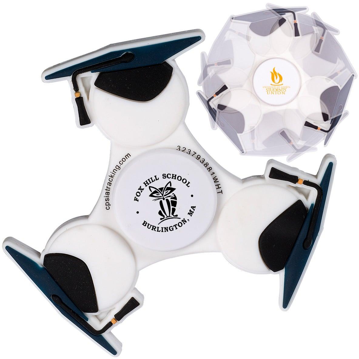 Graduation Cap PromoSpinner Fidget Spinner