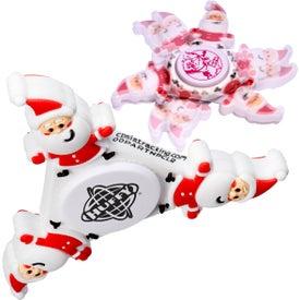 Santa PromoSpinner Fidget Spinner