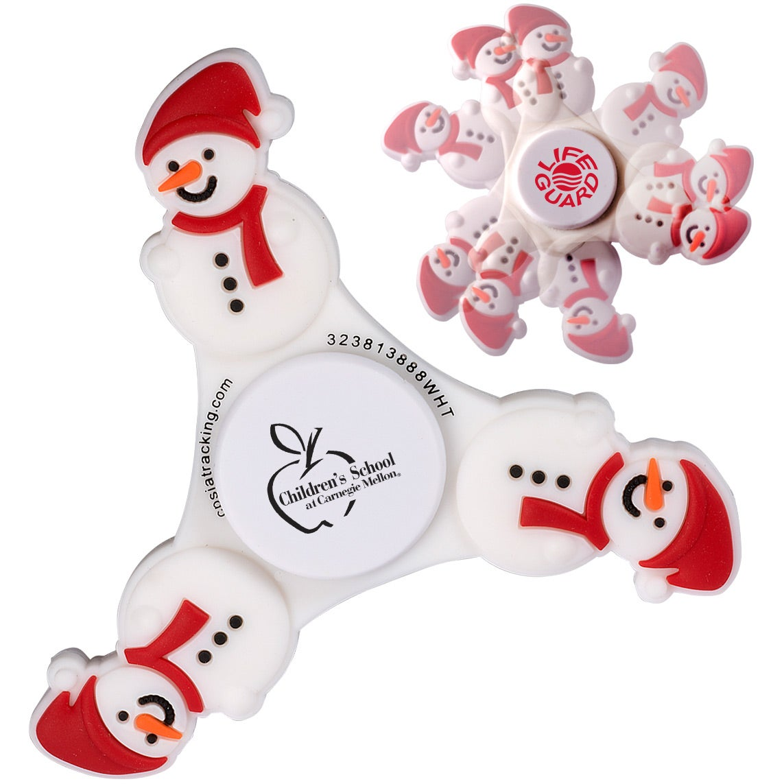 Snowman PromoSpinner Fidget Spinner