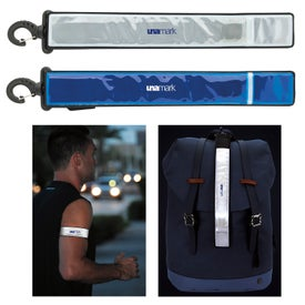 Fitness Flashing Armband with Bag Tag